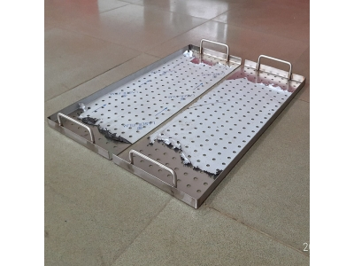 Impregnation machine product tray - fully automatic double cylinder model